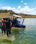Hayvanlarına Su Götürmek İstedi, Baraja Uçtu