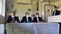Afet Bölgesinde Açıklama Yapan İçişleri Bakan Yardımcısı İsmail Çataklı Açıklaması