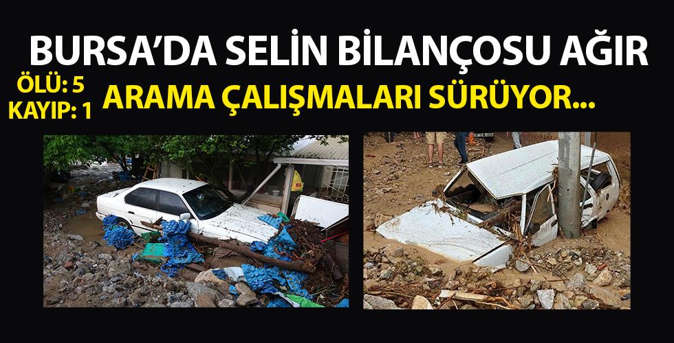 Bursa'dan acı haber geldi! Arama çalışmaları sürüyor