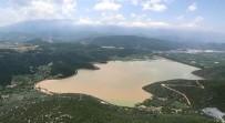 Geçtiğimiz Yıl Sonu Kuraklık Yaşanmıştı, Dünkü Yağışla Birlikte Taşan Gölbaşı Göleti Böyle Görüntülendi