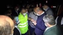 İçişleri Bakanı Soylu, Bursa'da Sel Bölgesinde İncelemelerde Bulundu Açıklaması