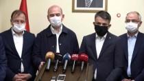İçişleri Bakanı Süleyman Soylu Açıklaması 'Evi Hasara Uğrayanlara 5 Bin Liraya Kadar Yardımda Bulunacağız'