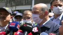 İçişleri Bakanı Süleyman Soylu, Bursa'da Sel Bölgesinde İncelemelerde Bulundu Açıklaması