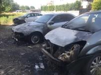 Konya'da Park Halindeki 4 Araç Kundaklandı