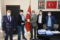 Manda Yetiştiriciler Birliği'nden Bozkurt'a Teşekkür Ziyareti