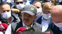 Tarım Ve Orman Bakanı Bekir Pakdemirli, Bursa'da Sel Bölgesinde İncelemelerde Bulundu Açıklaması