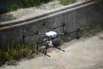 Tuzla'da Zorlu Bölgelerde İlaçlama Drone İle Yapıldı