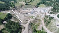 Yenice Kovancı Barajında Çalışmalar Devam Ediyor