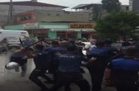 BIBER GAZı - Kaçak bina yıkımında olaylar çıktı!