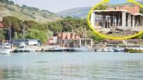 Gökçeada Belediyesinin Kaçak İnşa Ettiği Belirlenen Yapılar Mühürlendi