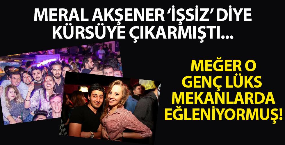 İYİ Parti Genel Başkanı Meral Akşener'in 'işsiz' diye kürsüye çıkardığı gencin yurt dışında lüks eğlence mekanlarında fotoğrafları çıktı