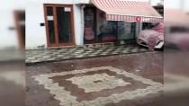 Kastamonu'da Ceviz Büyüklüğünde Yağan Dolu Zarara Neden Oldu
