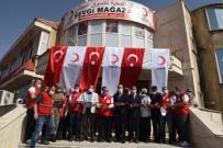 Kızılay Suriye'deki Sekizinci Mağazasını Resulayn'da Açtı