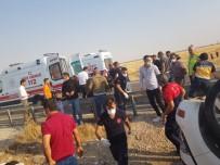 Mardin'de Otomobil Refüje Uçtu Açıklaması 1 Ölü, 2 Yaralı