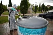 Selçuklu'da Dezenfekte Çalışmaları Sürüyor