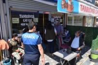 Bünyan'da Zabıta Maske Dağıtıp İşletmeleri Denetledi
