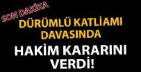 TUTUKLU SANIK - Dürümlü katliamı sanığı Burhan Taş'ın cezası belli oldu