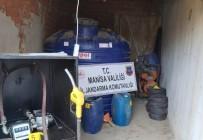 Evinin Deposuna Kaçak Akaryakıt İstasyonu Kuran Şahıs Yakalandı