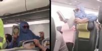 SABİHA GÖKÇEN HAVALİMANI - Uçakta 'Ben FETÖ'cüyüm uçağı patlatacağım' diyen Nikar Deliormanlı'nın cezai sorumluluğunun olmadığı yönünde rapor verdi!