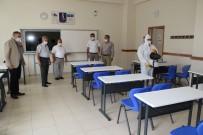 Akşehir'de Sınav Salonları YKS İçin Hazır