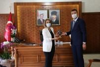 Ürgüp Belediye Başkanı Aktürk Ve AK Parti İlçe Başkanı Kahraman Vali Becel'i Ziyaret Etti