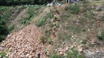 Arama Ekipleri Sarp Kayalardan Oluşan Dere Yatağında Genç Kızı Böyle Arıyor