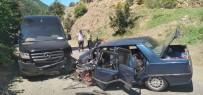 Artvin'de Trafik Kazası Açıklaması 5 Yaralı