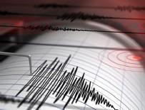EGE DENIZI - Ege'de korkutan deprem!