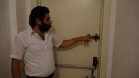 (Özel) Pendik'te İki Hırsızın Apartmanın Bodrumundan Lastik Çaldığı Anlar Kamerada