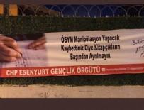 GENÇLİK KOLLARI - CHP'li gençlerden provokatif sınav pankartı