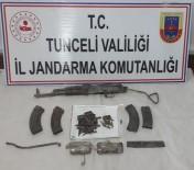Tunceli'de Silah, Mühimmat Ve Malzeme Ele Geçirildi
