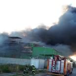 Adana'da Nişasta Fabrikasında Büyük Yangın