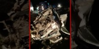SIĞINMACI - Van'da can pazarı; 1 ölü, 41 yaralı! Sığınmacıları taşıyan minibüs şarampole devrildi