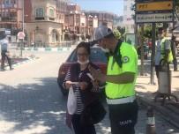 Emirdağ'da; Sürücülere Ve Yayalara Bilgilendirme Ve Broşür Dağıtımı Yapıldı