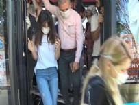 HALK OTOBÜSÜ - Görenler hayrete düştü! Yolcu rekorunu kıran minibüsçüden akılalmaz savunma
