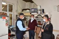 İnönü'de Zabıta Ekipleri Kahvehane, Çay Bahçesi Ve Lokantaları Denetledi
