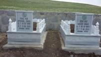 Ağrı Belediyesi Tandıra Düşerek Hayatını Kaybeden Anne-Kızın Mezarını Yaptırdı