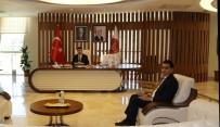 Başkan Çiftci'den Rektör Aktekin'e Hayırlı Olsun Ziyareti