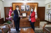 Gülşehir Belediye Başkanı Çiftçi, Vali Becel'i Ziyaret Etti