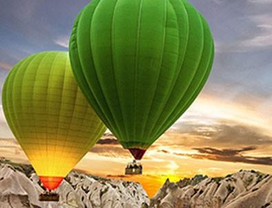 Kapadokya'da balon turları o tarihe ertelendi!