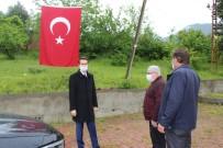 Cide Kaymakamlığı 46 Köye Maske Ve Dezenfektan Ürünü Dağıttı