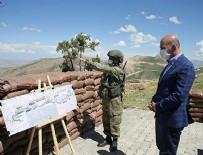TABUR KOMUTANLIĞI - Bakan Soylu İran sınırında!