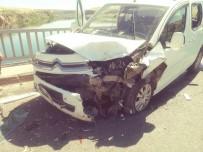 Fırat Köprüsü'nde Zincirleme Kaza Açıklaması 4 Yaralı