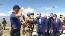 İçişleri Bakanı Süleyman Soylu, Türkiye-İran Sınır Duvarını İnceledi Açıklaması