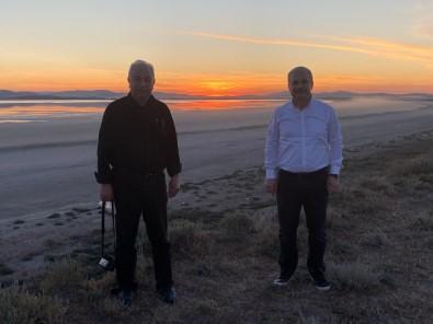 Vali Akın, Seyfe Gölünde Gün Batımını İzledi