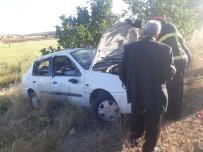 Mardin'de Kontrolden Çıkan Araç Şarampole Yuvarlandı Açıklaması 5 Yaralı
