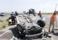 Nevşehir'de Otomobil Takla Attı Açıklaması 5 Yaralı