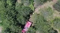 Ormanda Çıkan Yangın Drone İle Havadan Gözlem Sayesinde Kısa Sürede Söndürüldü