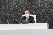 Meram Belediye Meclisi Sosyal Mesafe İle Toplandı