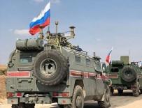 KOBANİ - Rus askerlerine bombalı saldırı!